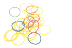 Rubber bands Stock Image