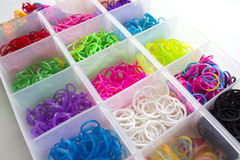 Rubber bands Stock Photography