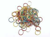Rubber bands Stock Images