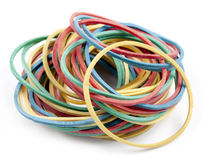 Rubber bands for money Royalty Free Stock Photos