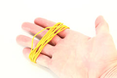 Rubber bands for office Stock Photo