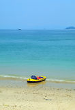 Rubber boat Stock Image