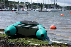 Rubber boat Stock Photo