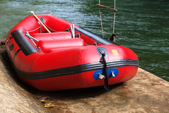 Rubber boat Royalty Free Stock Photos