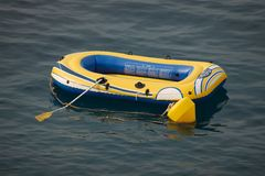 Rubber boat Stock Photos