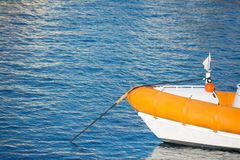 Rubber boat Royalty Free Stock Image