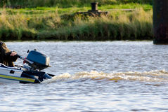 Rubber boat Stock Photography