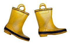 Rubber boot Stock Image