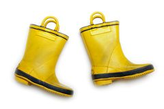Rubber boot Stock Photo