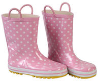 Rubber boots. Royalty Free Stock Photography