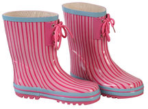 Rubber boots. Stock Images