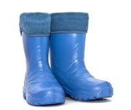 Rubber boots Stock Photos