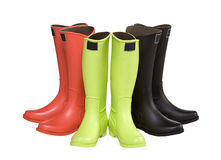 Rubber Boots Stock Image
