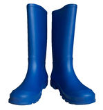 Rubber boots - blue Stock Photography