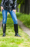 Rubber boots Royalty Free Stock Photo