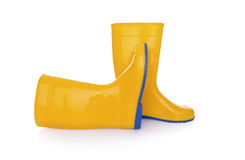 Rubber boots isolate. Stock Photo