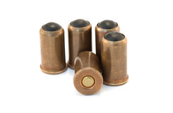 Rubber bullets royalty free stock photos