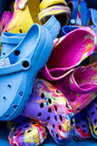 Rubber clogs Royalty Free Stock Images