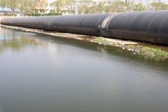 Rubber dams Stock Photo