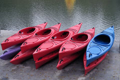 Rubber dinghies Royalty Free Stock Photos