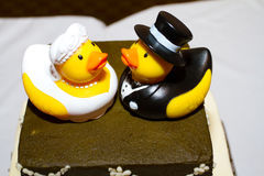 Rubber Duck Cake Stock Image