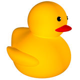 Rubber duck icon Royalty Free Stock Images