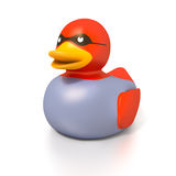 Rubber duck thief Royalty Free Stock Photos