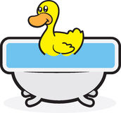 Rubber Duck Tub Stock Photography