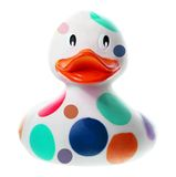 Rubber Duck. On White Background Stock Images
