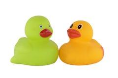 Rubber ducks toys Royalty Free Stock Photo