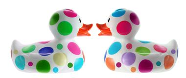 Rubber Ducks Stock Photo