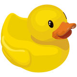 Rubber ducky for bath Stock Image