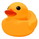 Rubber ducky for bath Royalty Free Stock Photo