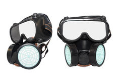 Rubber dust mask. Stock Image