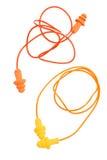 Rubber earplugs Royalty Free Stock Image