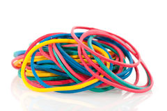 Rubber elastics Royalty Free Stock Photography