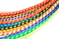 Rubber elastics colorful Stock Photography