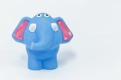 Rubber elefant Fotografering för Bildbyråer