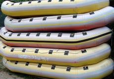 rubber fartyg Fotografering för Bildbyråer
