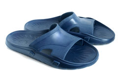 Rubber flip flops Royalty Free Stock Photography
