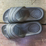 Rubber flip-flops Royalty Free Stock Images