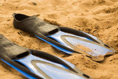 Rubber flippers Royalty Free Stock Images