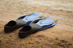 Rubber flippers Royalty Free Stock Photography