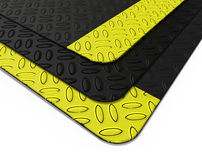 Rubber floor mat Royalty Free Stock Image