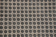 Rubber flooring with holes Royalty Free Stock Photos