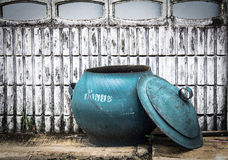 rubber garbage bin Royalty Free Stock Image