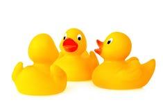 Rubber Gesprek Duckie royalty-vrije stock foto's