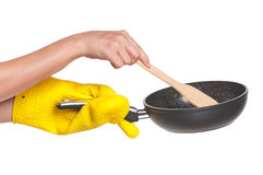 Rubber glove Stock Photography