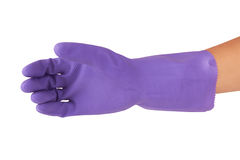 Rubber glove Stock Photo