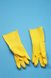 Rubber gloves Royalty Free Stock Image
